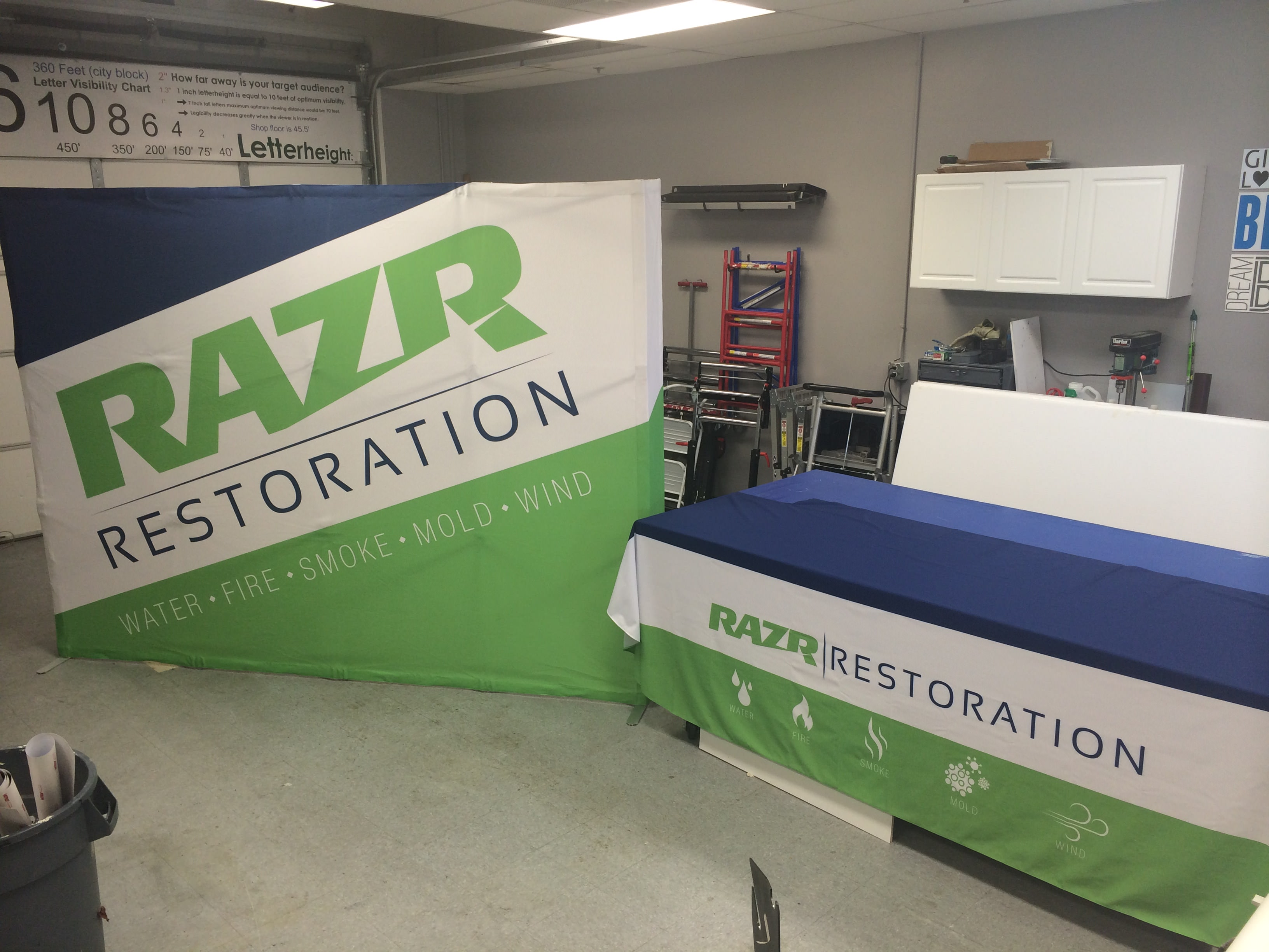 Razr Restoration Tradeshow Pop Up