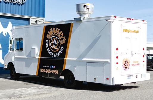 Partial Food Truck Wrap & Spot Graphics