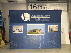 Sandhollow Homes Pop Up Display