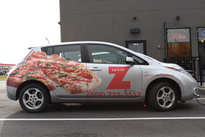 Partial Car Wrap & Spot Graphics