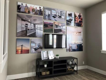 Acrylic Wall Mounted Photo Gallery