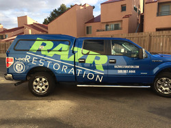Razr Restoration Truck Wrap