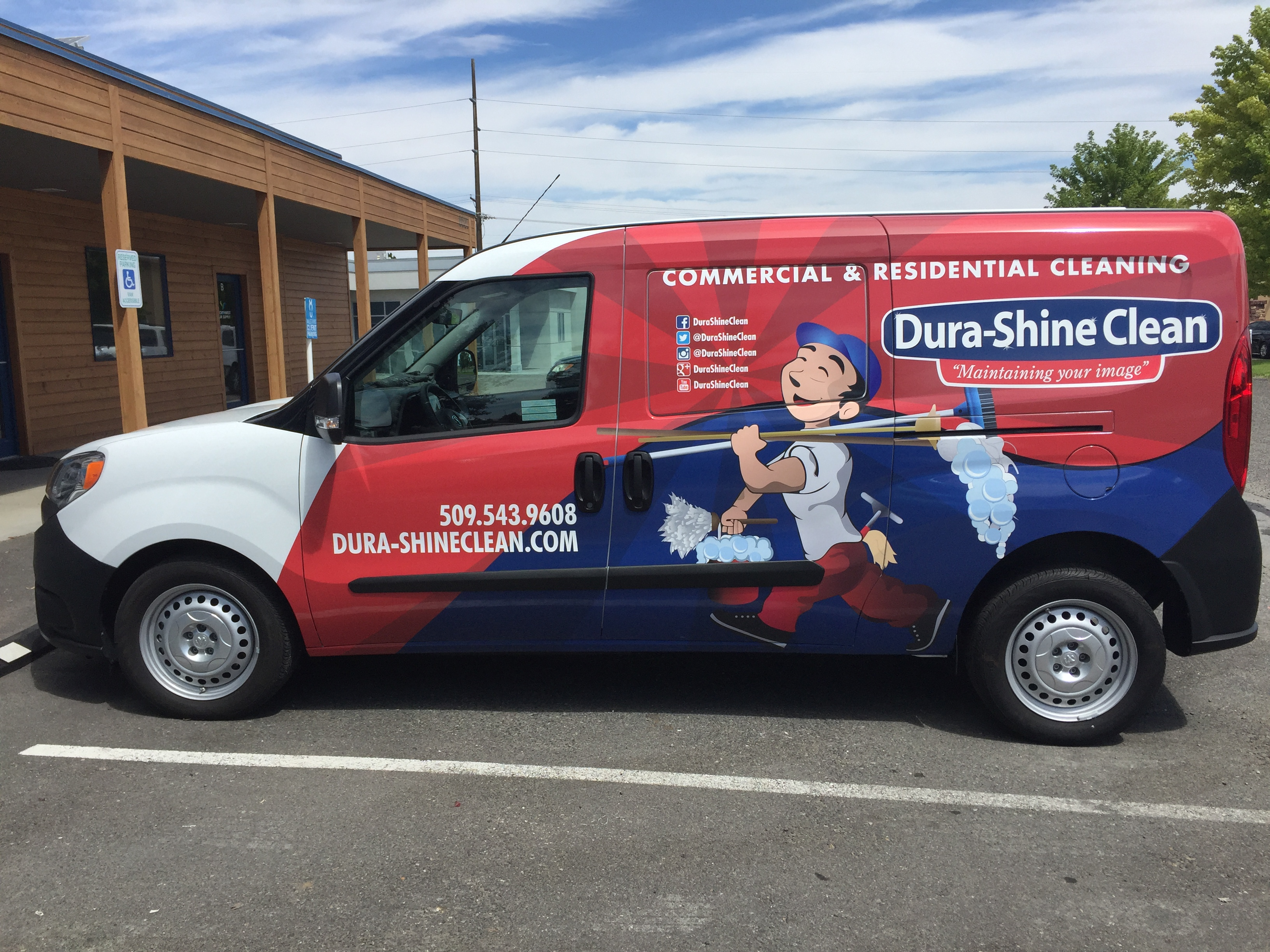 Durashine - van wrap 3