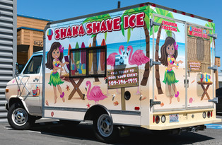 Full Food Truck Wrap & Perforation