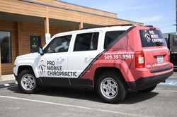 Pro Mobile Chiropractic Car