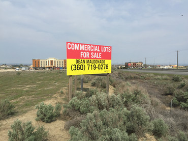 MDO Lots for Sale Site Sign