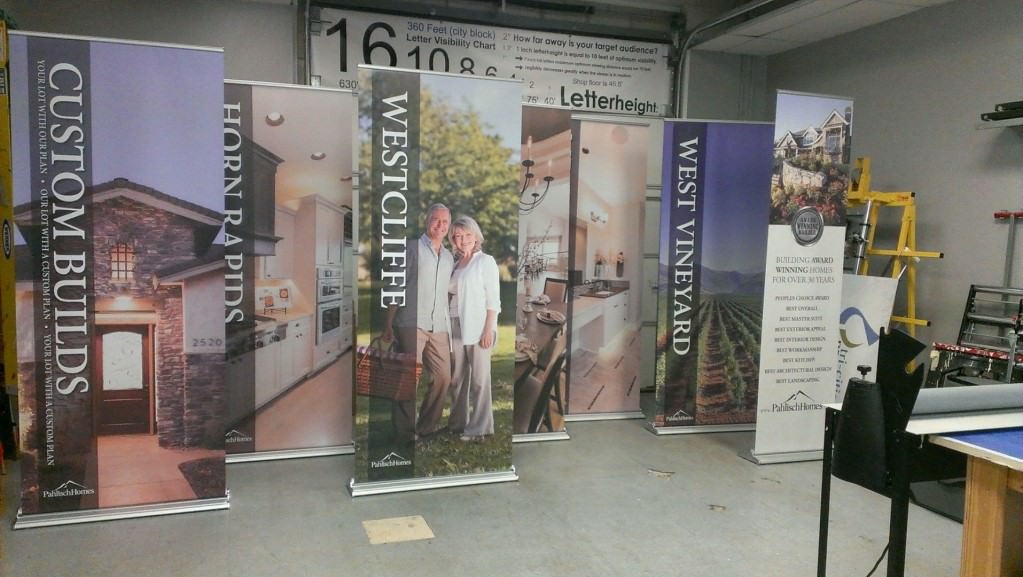Pahlisch Homes Retractable Banners