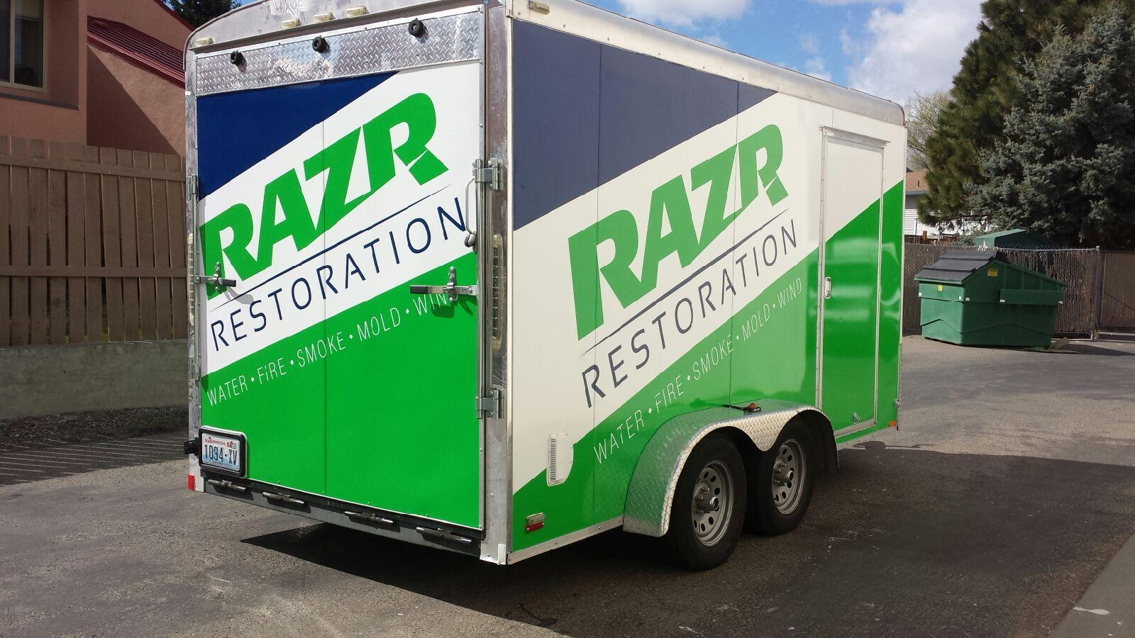 Razr Restoration Trailer