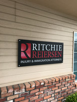 Mounted Exterior Dimensional Sign