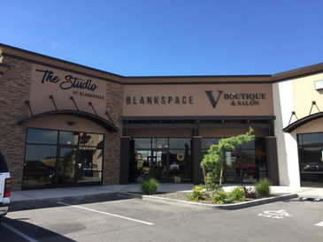 Dimensional Building Storefront Sign