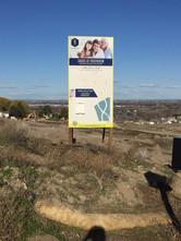MDO Housing Development Site Sign