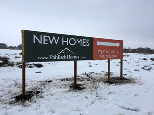 MDO New Housing Development Site Sign