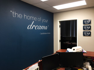 Cut Vinyl Wall Graphics