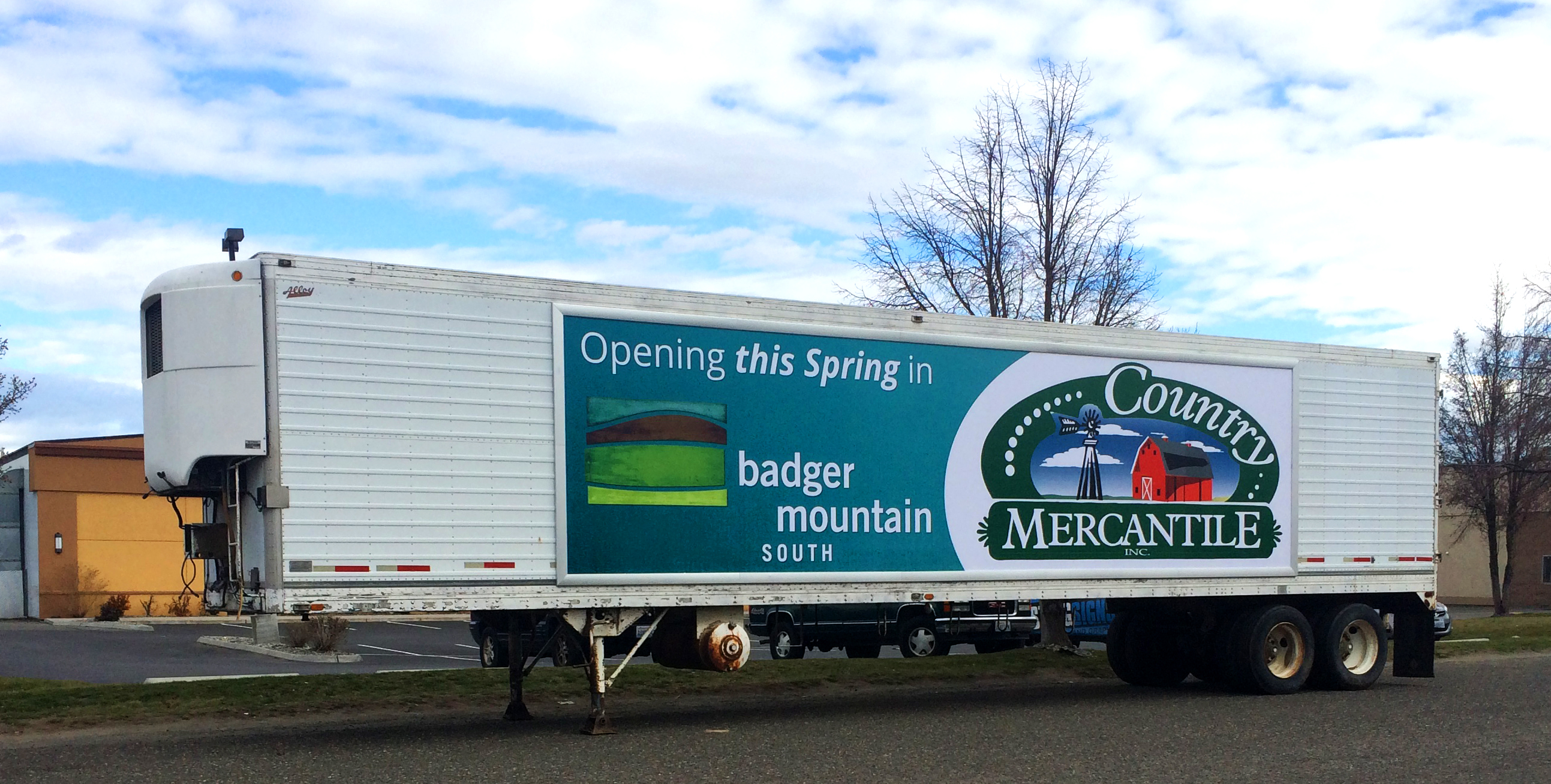 Country Mercantile Truck Banner 2