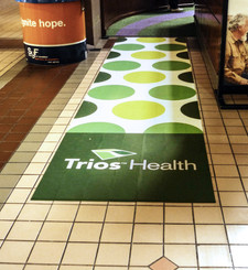 Full Color Floor Vinyl Graphics