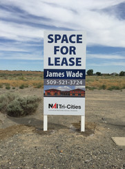 MDO For Lease Site Sign
