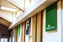 Trios Health Hanging Banners