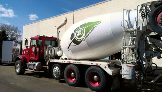 Cement Mixer Truck Spot Graphics