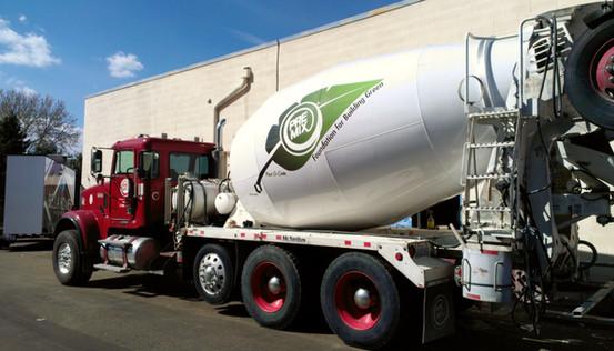 Cement Mixer Truck Spot Graphics