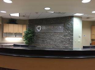 Acrylic and Aluminum Dimensional Lobby Wall Sign