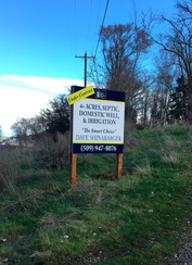 Multi-Dimensional For Sale Site Sign