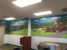 Full Color Print Graphics Wall Wrap