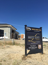 New Homes Yard Site Sign