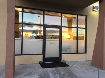 Frosted Storefront Window Vinyl