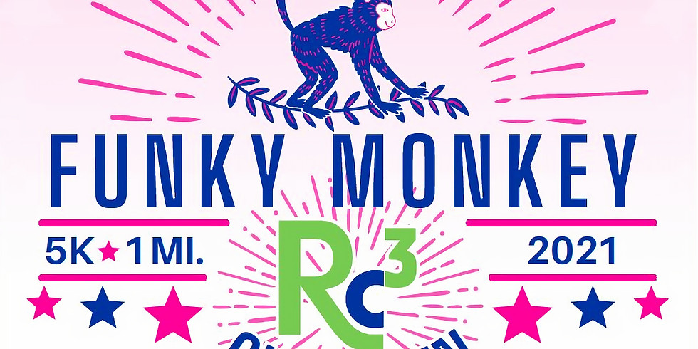 Funky Monkey Glow Run 5K / 1 Mile