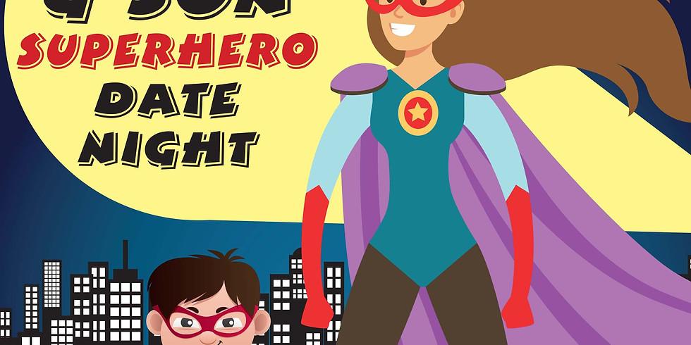 Mom & Son Superhero Date Night