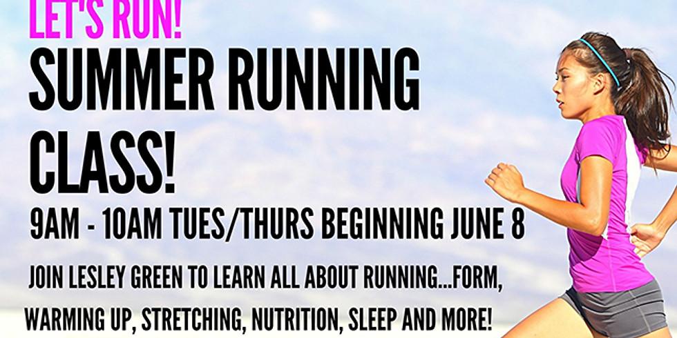 Summer Running Class - 7/13