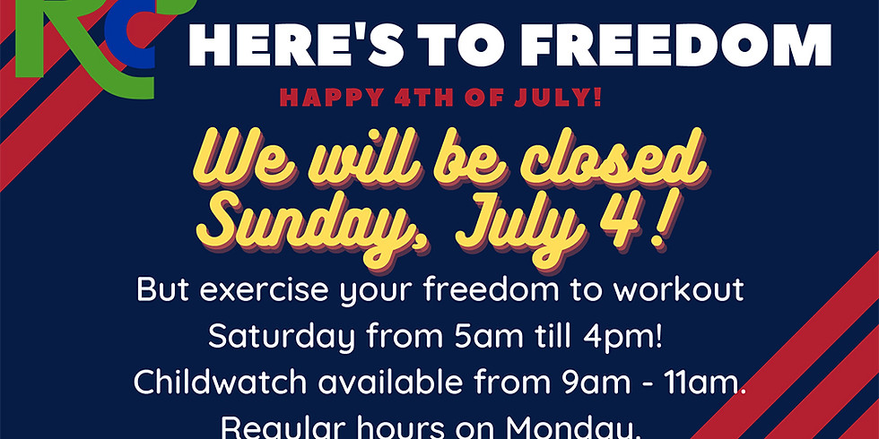 July Fourth Weekend Hours