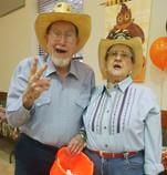 Spud and Jan Brown