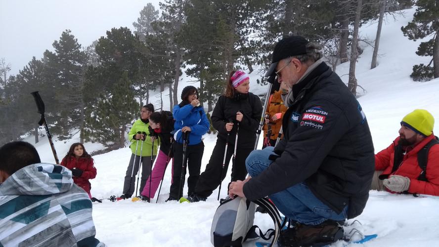 Excursión raquetas de nieve