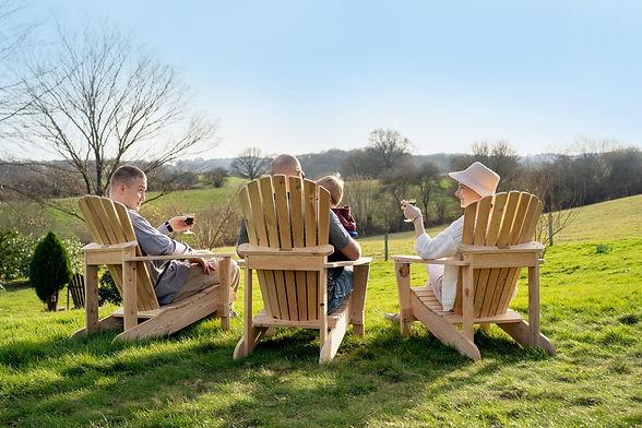 Three Adirondack Chairs in the UK