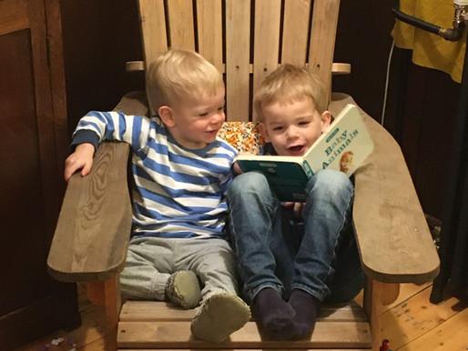 Indoor Adirondack Chairs (Corwin's house)