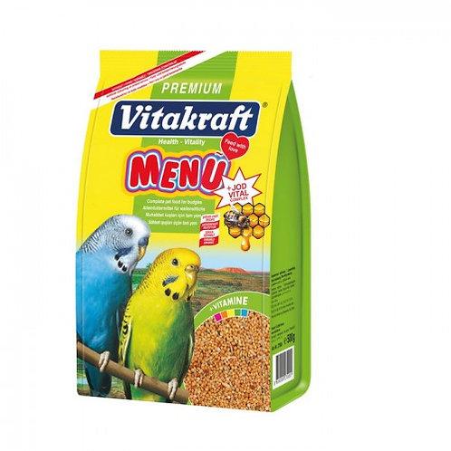 Vitakraft 500GR Muhabbet Kuşu Yemi Menü Premium+Jod Vital