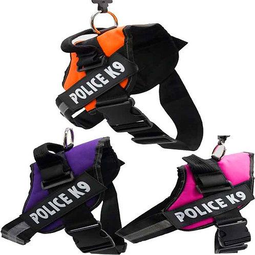 Doglife Police K9 Özel Sırt Tasması XL MAVİ
