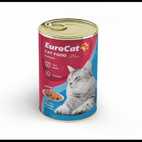 EuroCat Kedi Konservesi Somonlu 415 Gr - EUR-01-M-415GR (BARKOD: 8681144198048)