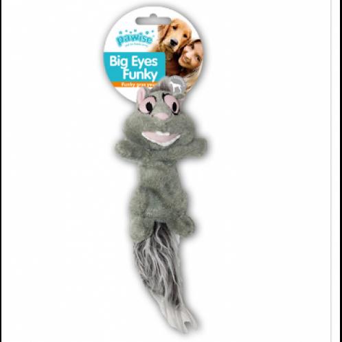 Pawise Big Eyes Funky Squirrel Peluş Oyuncak 29 cm BARKOD NO:8886467550911