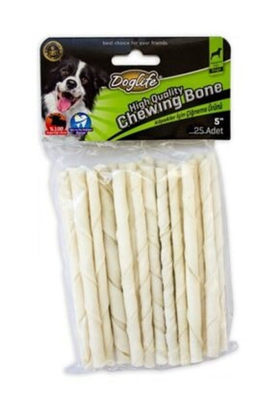Doglife Burgu Çubuk White 5-6 gr 25'li 8681475627118