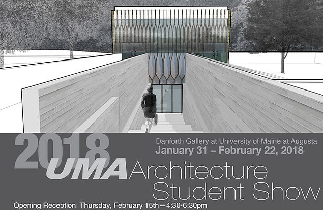 2018 UMA Architecture Student Show exhibition card image