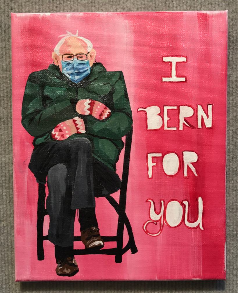 "Deidrah Stanchfield, ""I Bern for You"""
