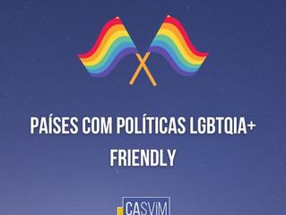 Países com políticas LGBTQIA+ friendly
