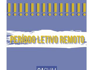 Período Letivo Remoto