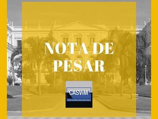 Nota de pesar: Museu Nacional