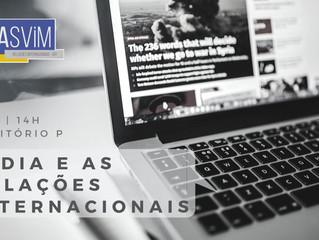 #EVENTO:  Mídia e as Relações Internacionais