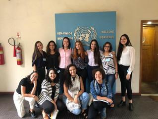 """Alunas de RI UFF no UNIC Rio - Evento """"Mulheres e os ODS"""""""