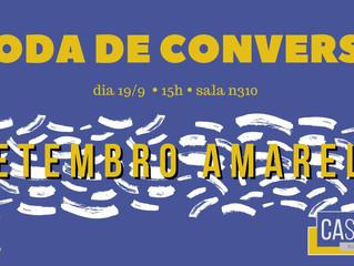 #EVENTO: Roda de Conversa Setembro Amarelo