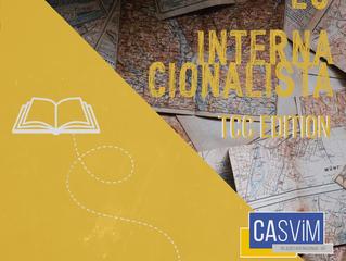 Eu, Internacionalista: TCC edition!